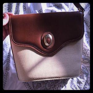 Cute leather shoulder purse